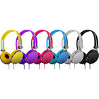 Vibe Sound DJ Style Soft Touch Vintage Design Headphones w/ 3.5mm Connection