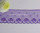 "10 Yards Purple 2-3/4"" Candlewick Lace Trim E56AV Buy More-Ship No Charge"