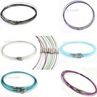 Fashion 20pcs Steel Memory Wire Necklace Choker 46cm Colorful Choice