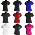 (Free PnP) Finden & Hales Womens Coolplus Piped Sports Polo Shirt