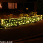 INDOOR OUTDOOR PLUG IN CHRISTMAS WEDDING DECORATION FAIRY STRING NET LED LIGHT