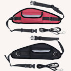 Handsfree Jogging Dog Lead Rope Walking Running Waist Belt Bag Pouch Pack Leash