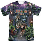 Jurassic Park Welcome To The Park Sublimation Poly Adult Shirt S-3XL