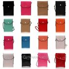 For Sumsung Galaxy S2 S3 S4 Note 2 3Phone Pouch PU Leather Bag Case Wallet Purse