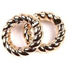 New Charms Rose Gold Small/Big Hemp Flowers Hollow Acrylic Jump Rings Fit DIY
