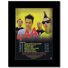 BLINK 182 - +44 - UK Tour 2007 Matted Mini Poster