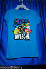 Angry Birds T Shirt Junior  Size L or XL New  Angry Birds Turquoise T Shirt