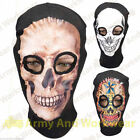 BALACLAVA KNITTED 2 HOLE SKULL DESIGN SCARY FUN SAS/PARA/SKI/PAINTBALL/WAR NEW