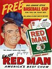3485.red Man Best Chew.baseball Johnny Mize Poster.room Home Wall Art Decoration