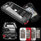 DUST SHOCK WATERPROOF ALUMINUM METAL PROTECTION CASE COVER FOR IPHONE 5 5G +FILM