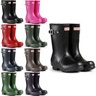 WOMENS HUNTER WELLINGTON BOOTS ORIGINAL SHORT RAIN SNOW WELLIES LADIES UK 3-8