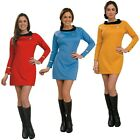 Star Trek Dress Uniform Costume Adult TOS Original Series Classic Fancy Dress on eBay