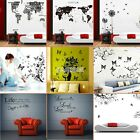 Home Animal Nature Tree Butterfly Mural Decal Wall paper Wall Sticker Art Room !