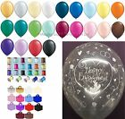 Happy Engagement Helium Balloons Ribbon Weights 10 Table Party Decoration Kit