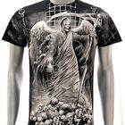 r10 Rock Eagle T-shirt SPECIAL Tattoo Skull Angel Demon Grim Reaper bmx Biker