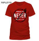 Official T Shirt METALLICA Through The Never NEVERMORE RED All Sizes