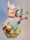 4 BUNNIES FOR YOU * SO CUTE * NEW * 6 INCHES TALL ** PASTEL COLORS ** GREAT GIFT