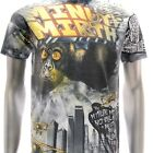 m170 Minute Mirth Sz M L T-shirt Vtg Classic Skull King Kong Monster Demon Skate