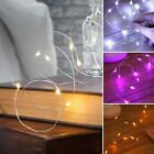 20 LED BATTERY MICRO SILVER WIRE STRING FAIRY PARTY CHRISTMAS WEDDING LIGHT 2M