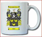 GLEAVE (ENGLISH) COAT OF ARMS COFFEE MUG
