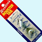 NEW Rooster Tail GREY Spinner Lures - Choice of Size/Quantity