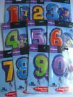 "18"" JR.SHAPE Foil Balloons {ALL NUMBERS/AGES/0-9}"