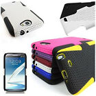 For Samsung Galaxy Note 2 N7100 Cover Apex Double Layer Hybrid Protective Case