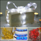 LED BATTERY OPERATED RIBBON BOW STRING FAIRY LIGHT WEDDING BIRTHDAY PARTY LIGHTS