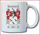 RALPH (ENGLISH) COAT OF ARMS COFFEE MUG