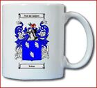 TOBIN COAT OF ARMS COFFEE MUG