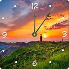 Rikki Knight Lighthouse at Sunset Design Wall Clock