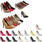 Damen High Heels Pumps Elegant Office 70696 Gr.36-41