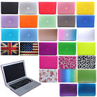 """Hard Rubberized Cover Case Shell for Macbook Air/Pro/Retina 11"""" 13"""" 15"""" Laptop"""