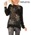 Iron Fist Ladies Jumper Top NIGHTMARE Catcher Wolf Oversized Goth All Sizes