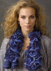 SMC ~Frilly~ Scarf Yarn & Downloadable Pattern *Free UK P&P On Additional Balls*