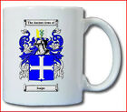 SEAGER (ENGLISH) COAT OF ARMS COFFEE MUG