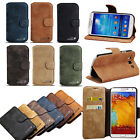 LUXURY LEATHER WALLET POUCH STAND CASE COVER FOR SAMSUNG GALAXY S3 S4 IV NOTE 3