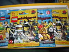 BRAND NEW FACTORY SEALED LEGO MINIFIGURES SERES 1 AND 2