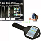 Sport Armband Case Cover + 3x Screen Protector FOR Motorola Razr Cell Phones UK