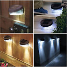NEW SOLAR POWERED DOOR / FENCE / WALL / STEP LIGHTS LED OUTDOOR GARDEN LIGHTING