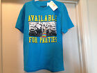 DESPICABLE ME 2 Blue Available For Parties Boys Tee T Shirt Brand New