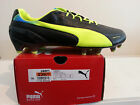 Puma football shoes EvoSpeed 1.2 L  FG - Black - new with box - 102859 01