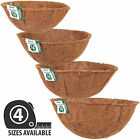 Hanging Basket Coco Liners Moulded Shaped Natural Fibre Plant Garden Replacement