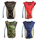 Cycling Hiking Running Hydration Water Backpack Rucksack Bag with 2L Bladder