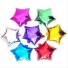 18in  Five-pointed star Foil Balloons Birthday Wedding Party Decoration
