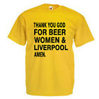 Beer Women And Liverpool Adult T Shirt