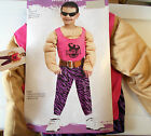 Totally Pumped Muscle Weightlifter Child Costume 3-4T 4-6 NWT