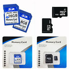 8GB / 16GB CLASS 6 MICRO SD TF SDHC FLASH MEMORY CARD FOR MOBILE PHONE TABLET PC