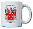 MANNION COAT OF ARMS COFFEE MUG