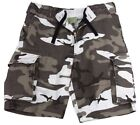 shorts city camo cargo vintage military style camouflage mens rothco 2155